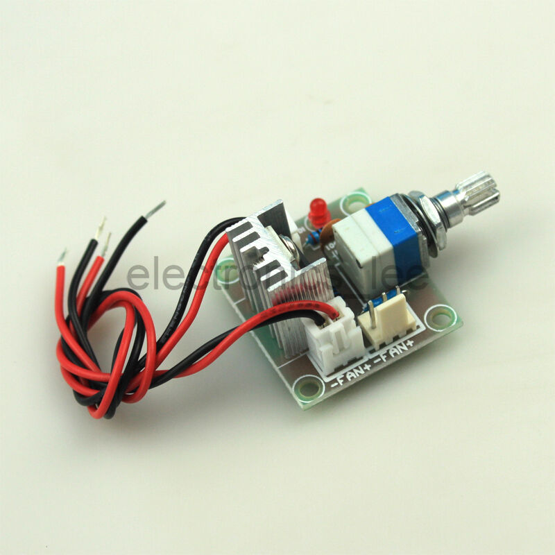 Lm317 linear full stage voltage regulator board fan speed for Lm317 motor speed control