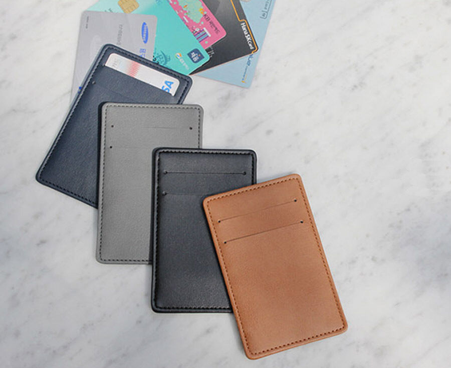 The Classique Card Holder Id Card Case Metro Card