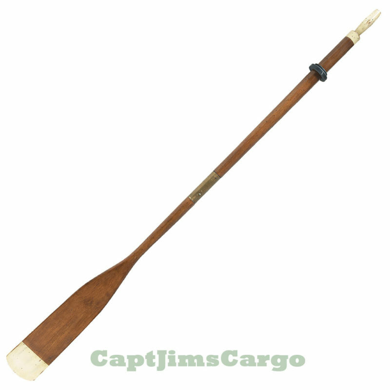 Nautical Wall Decor Oars: Wooden Rowing Boat Tender Oar Ivory 72 034 Nautical