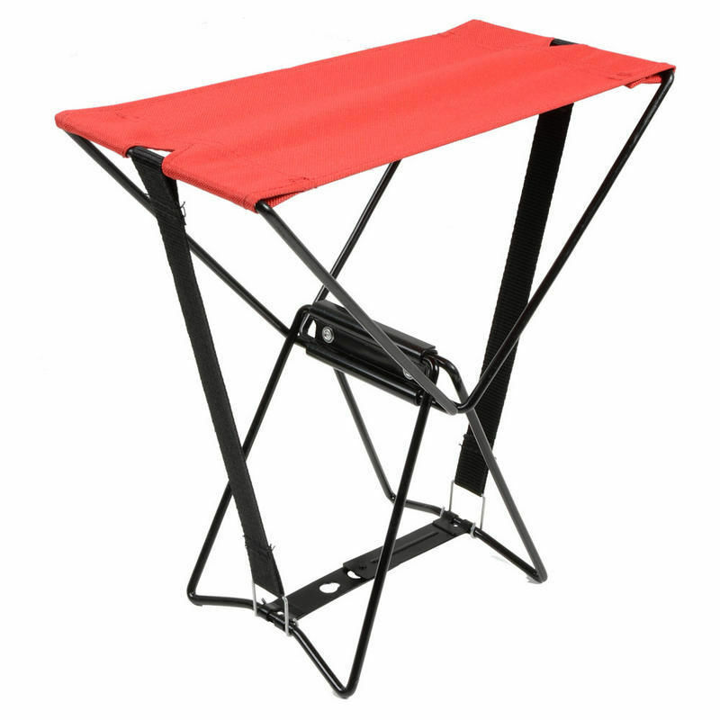 Handy Camping Stools ~ Folding camping pocket chair collapsible outdoor fold up