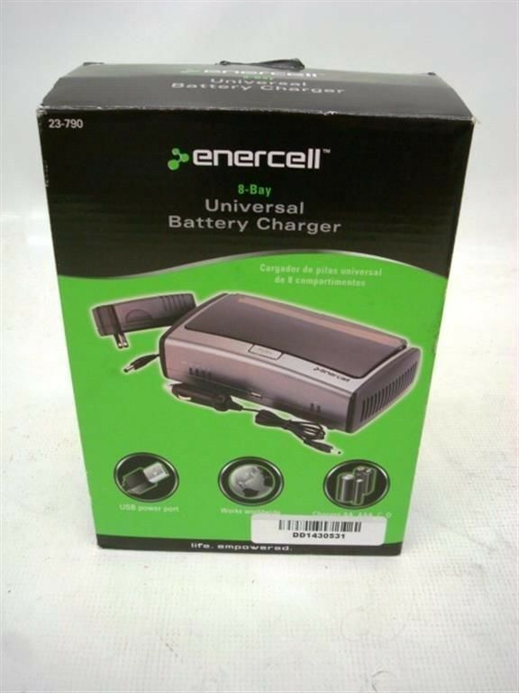 Enercell Universal Charger Model 23 972 Manual