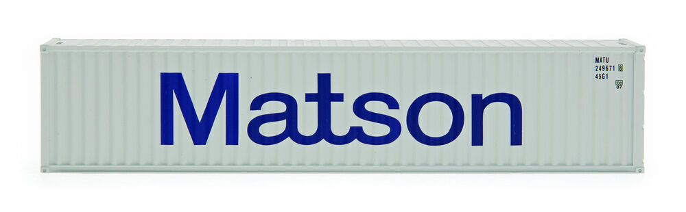 Intermountain ho 30263 matson 40 39 container 2 pack ebay - Matson container homes ...