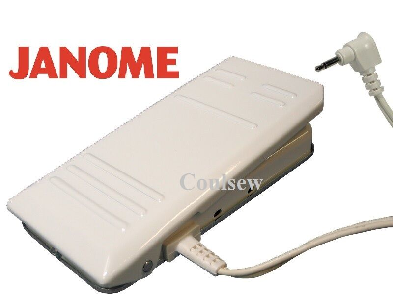 janome sewing machine foot pedal