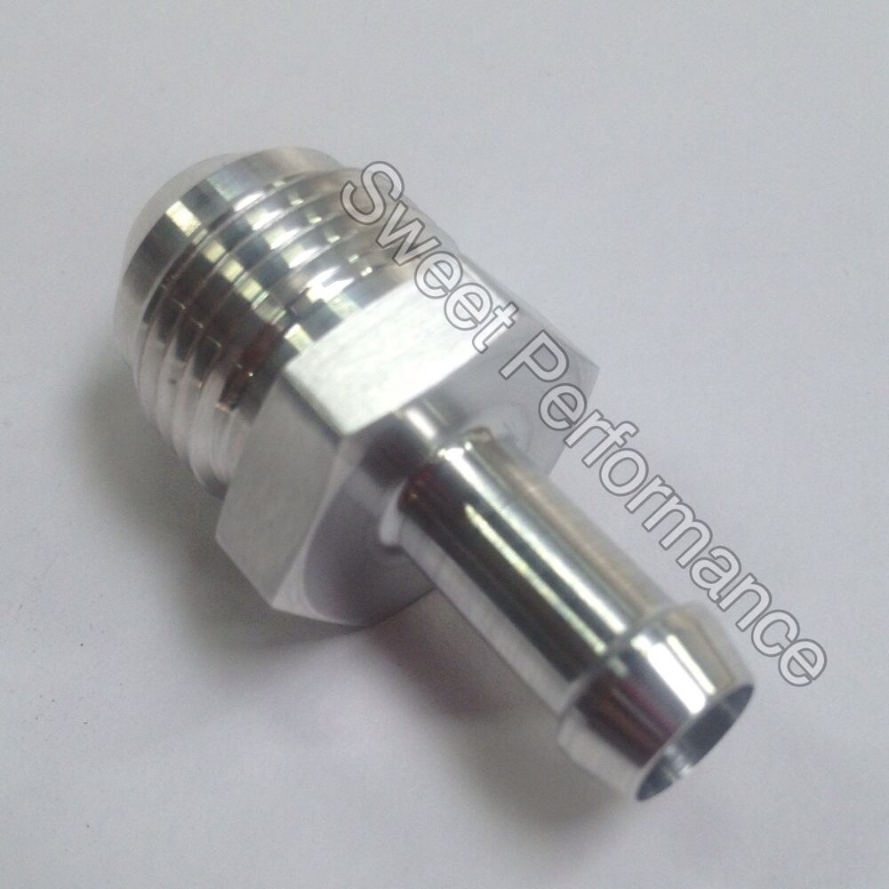 An male flare to mm hose barb adapter nylon
