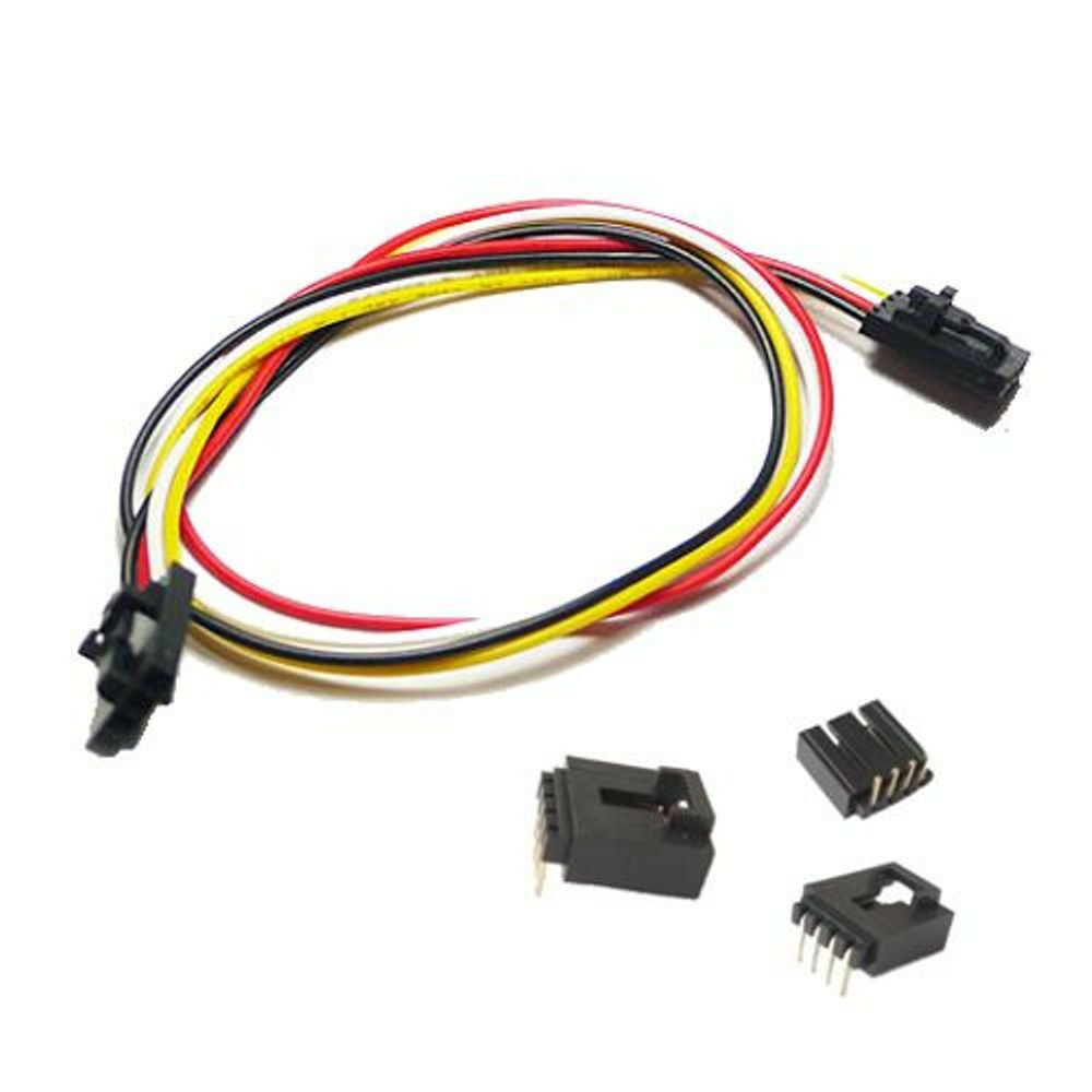 4 Pin Cable Arduino : Pin anti reverse i c com connector and cable a pcs