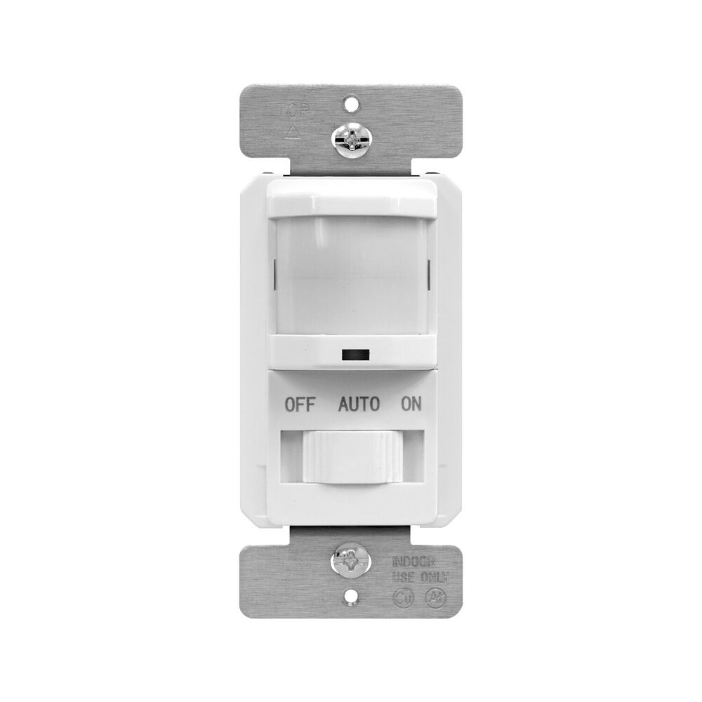 tsos5 pir motion sensor light switch detector infrared wall occupancy white