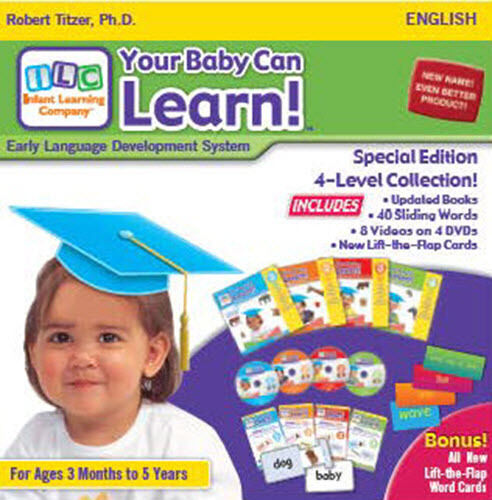 Your Baby Can Read - Stage 1 - Flash Cards - YouTube