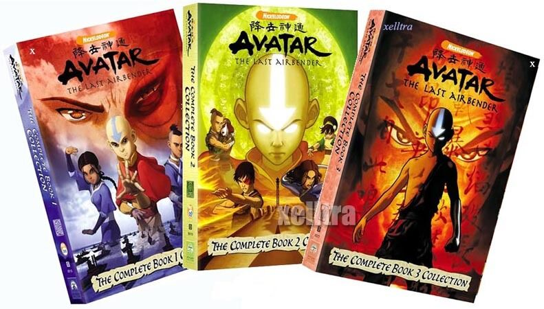 new avatar the last airbender the complete book 1 2 3 ebay
