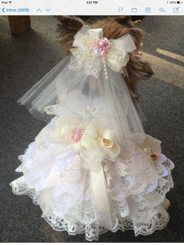Dog Wedding Dresses Flower Girl Dresses