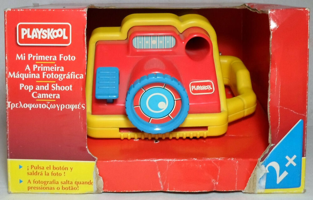 Playskool Vtg 1994 Pop And Shoot Camera Mip With Box Baby