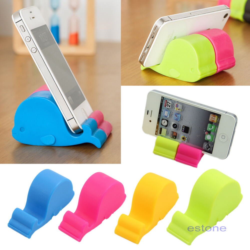 Whale Phone Stand Pad Holder Bedside Mp3 Mount Chopstick