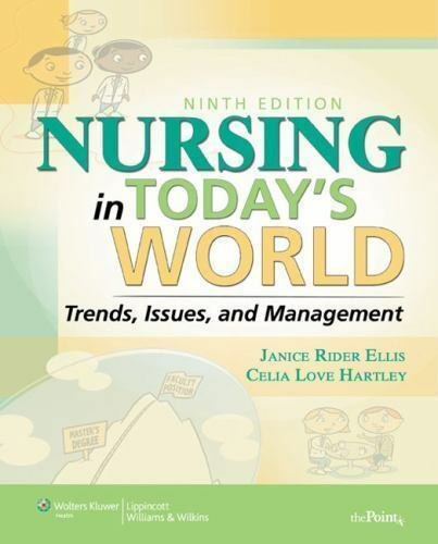 Nursing Now! Today's Issues,Tomorrow's Trends, 7th ED. by Catalano