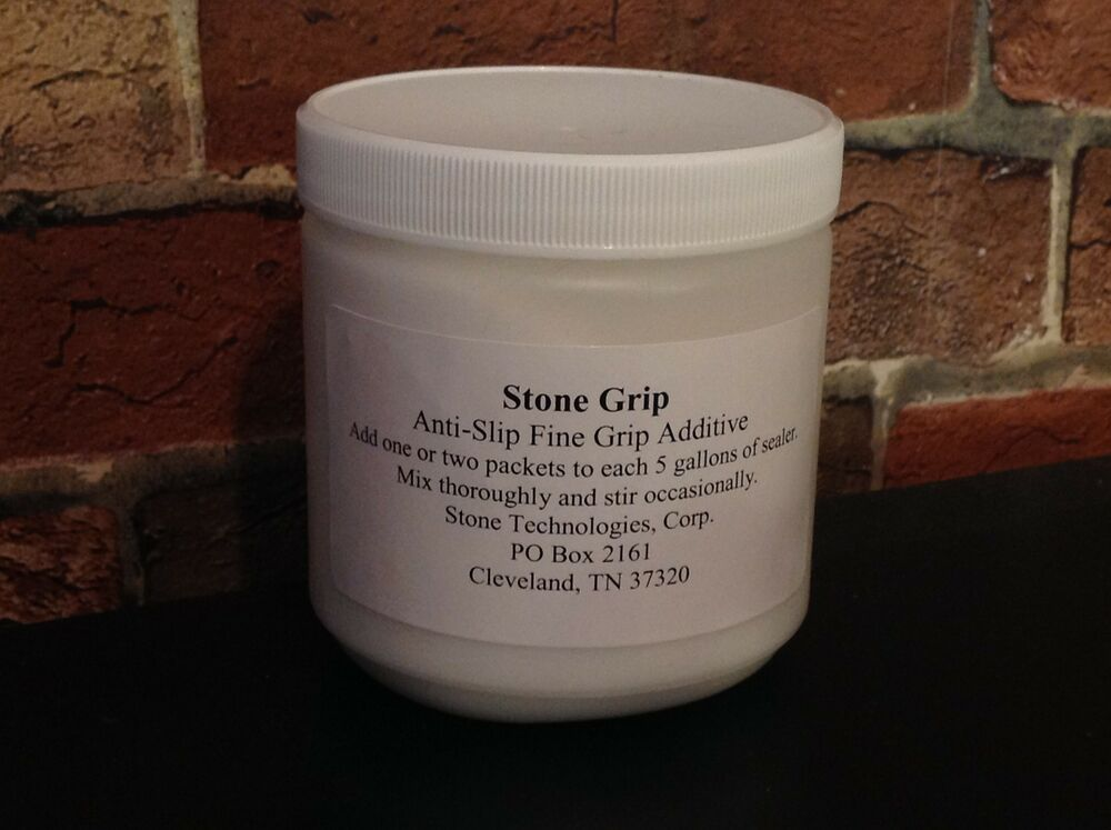 Stone Grip Anti Slip Additive For Use With Concrete Sealer