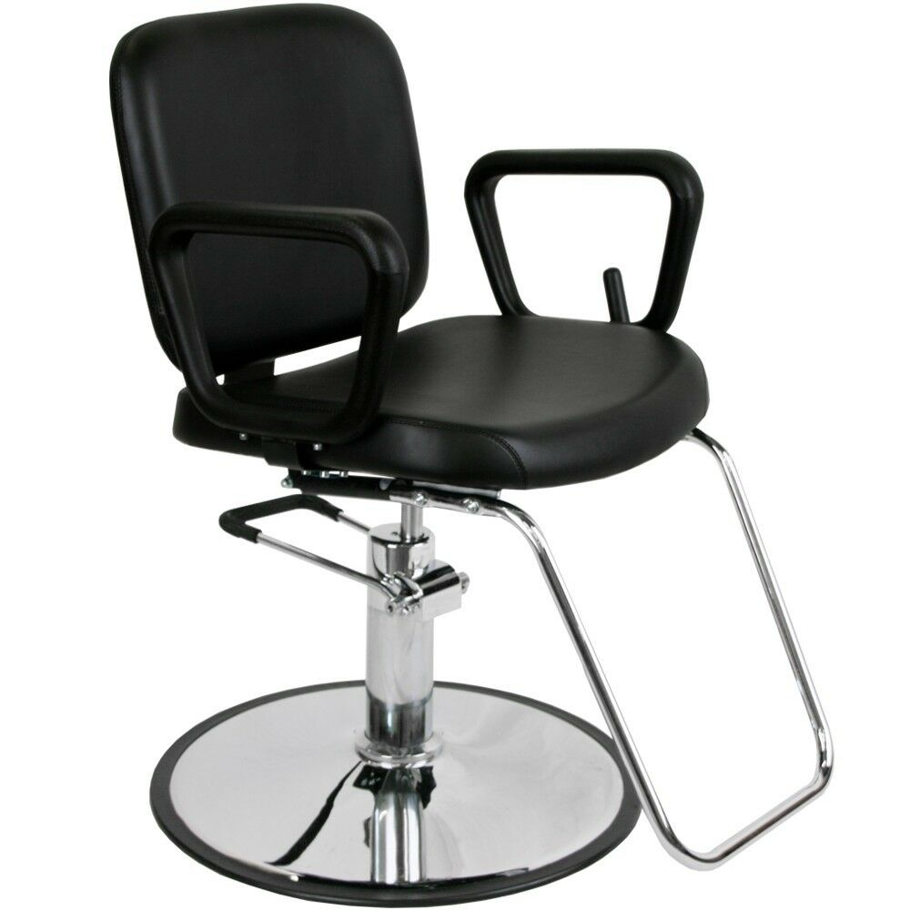 hydraulic hair styling chairs barber salon multi purpose reclining hydraulic hair 7463