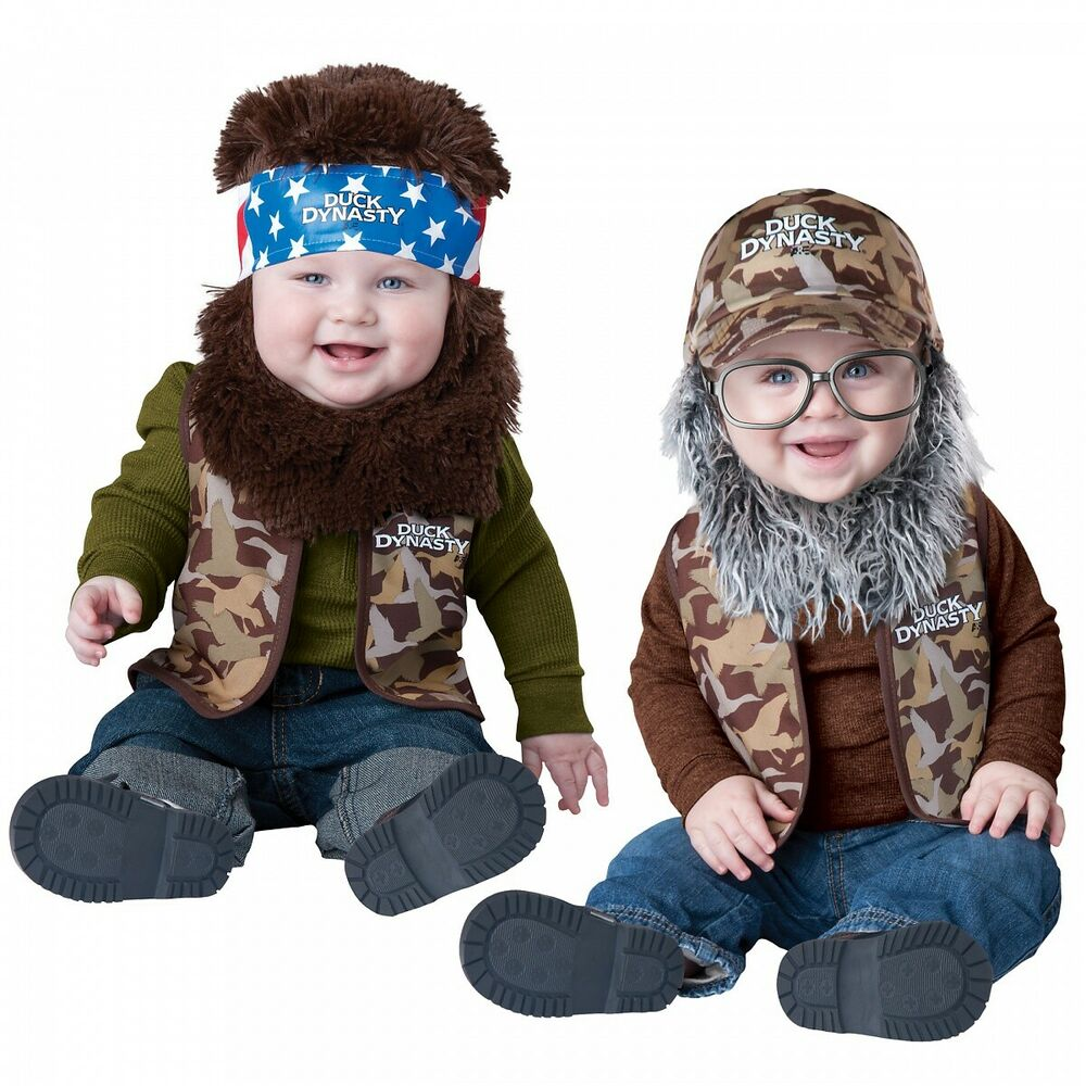 sc 1 st  eBay & Duck Dynasty Baby Costume Funny Halloween Fancy Dress | eBay