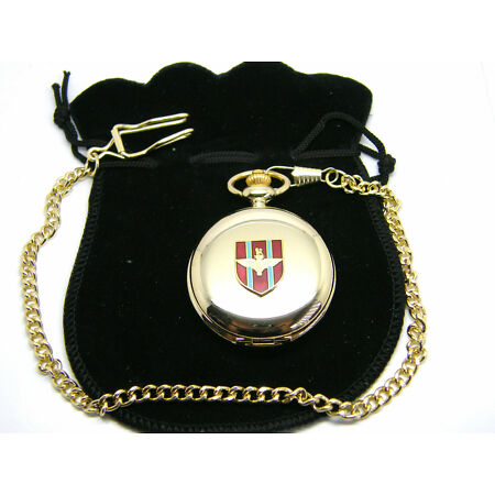 img-THE PARACHUTE REGIMENT PARAS BADGE POCKET WATCH & CHAIN ARMY MILITARY GIFT