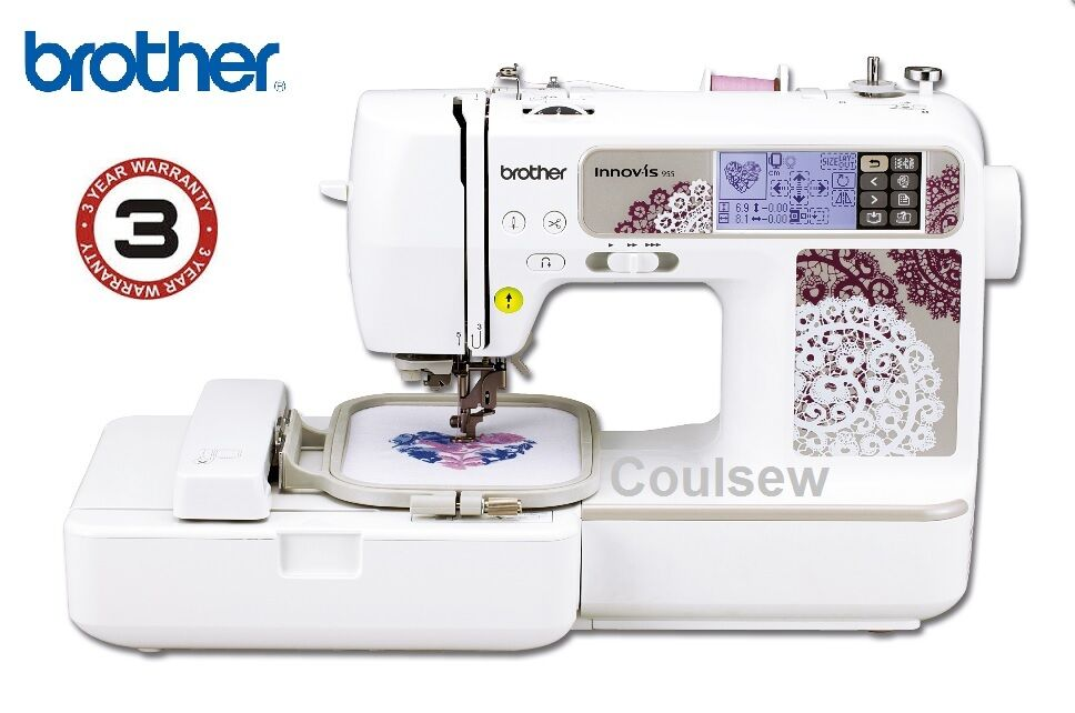 brother innov is 955 sewing compact embroidery machine 3. Black Bedroom Furniture Sets. Home Design Ideas