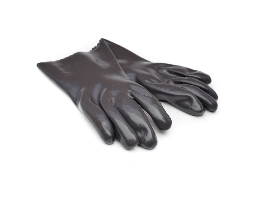 Bbq Choice Grey Insulated Rubber Cooking Gloves Barbecue