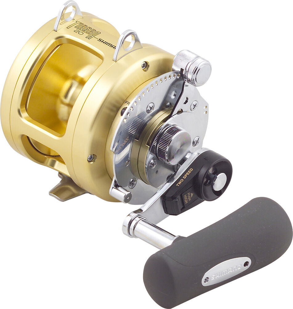 Shimano tiagra 20a overhead game fishing reel brand new at for Fishing reel brands