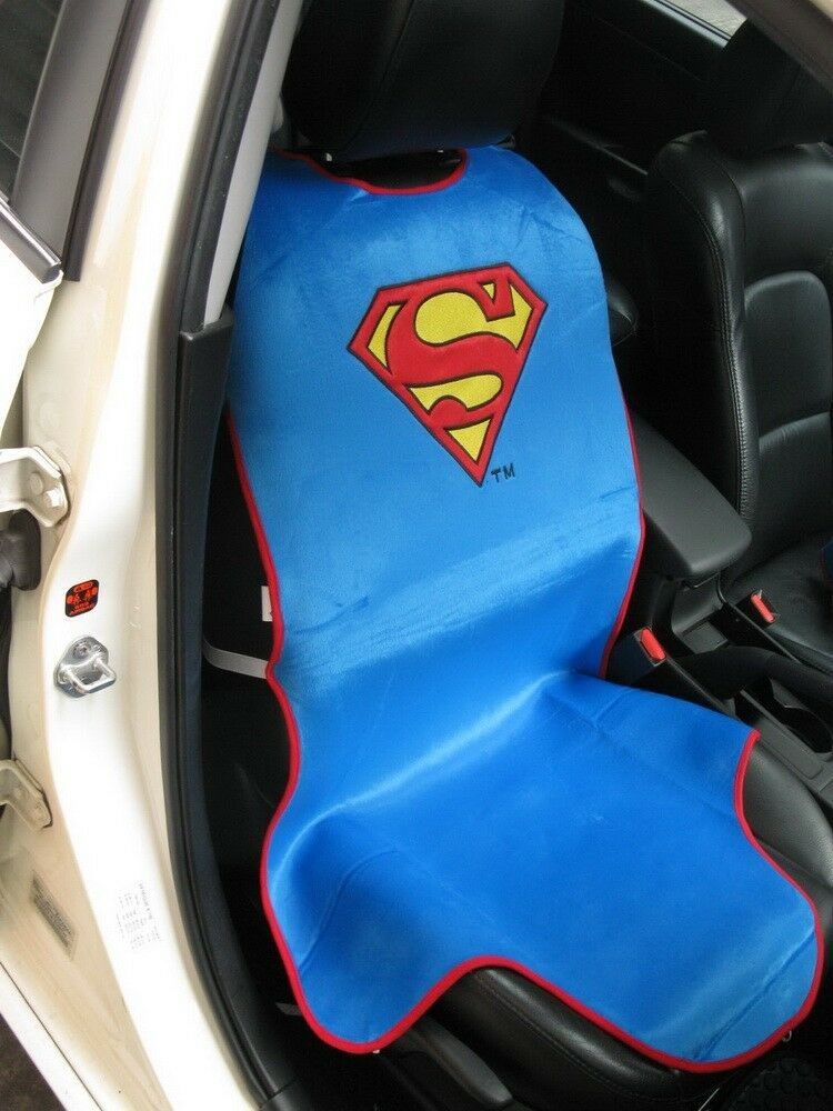 superman dc comics car truck accessory blue 1 piece car. Black Bedroom Furniture Sets. Home Design Ideas
