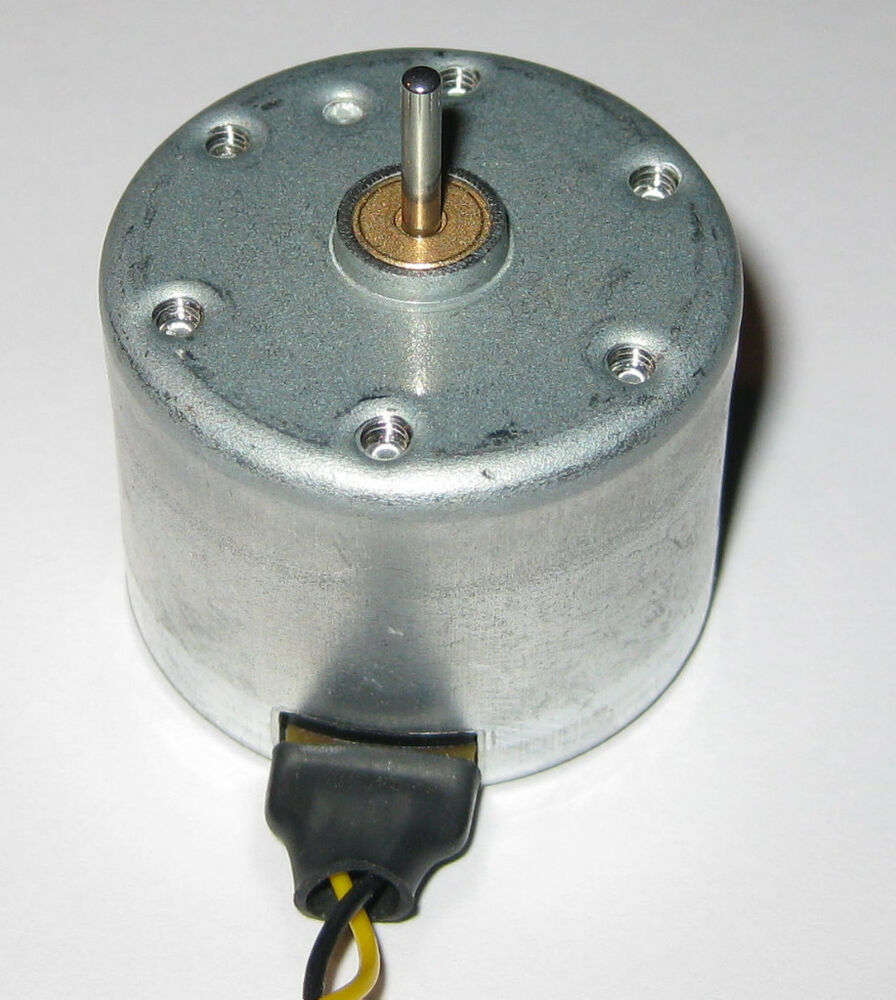 Mitsumi dc motor 12 v 2400 rpm low current 30 ma for 12 volt electric motor low rpm