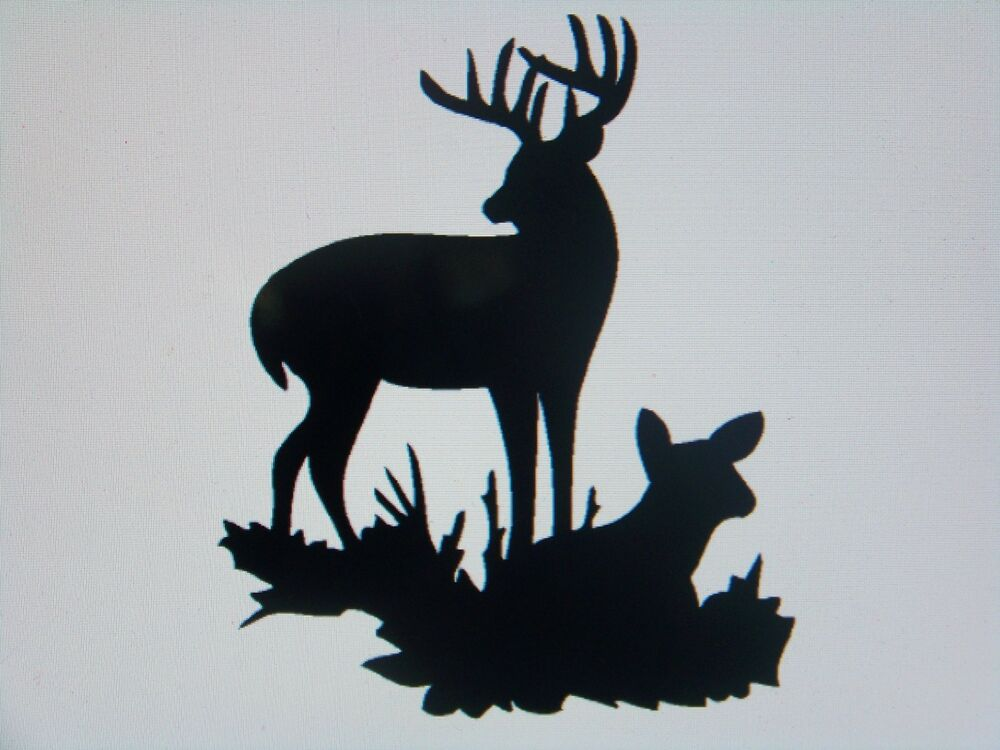 Whitetail deer wall decals bing images for Deer mural decal