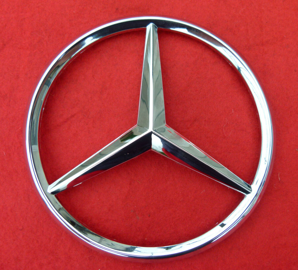 mercedes benz central grill emblem front grille star badge
