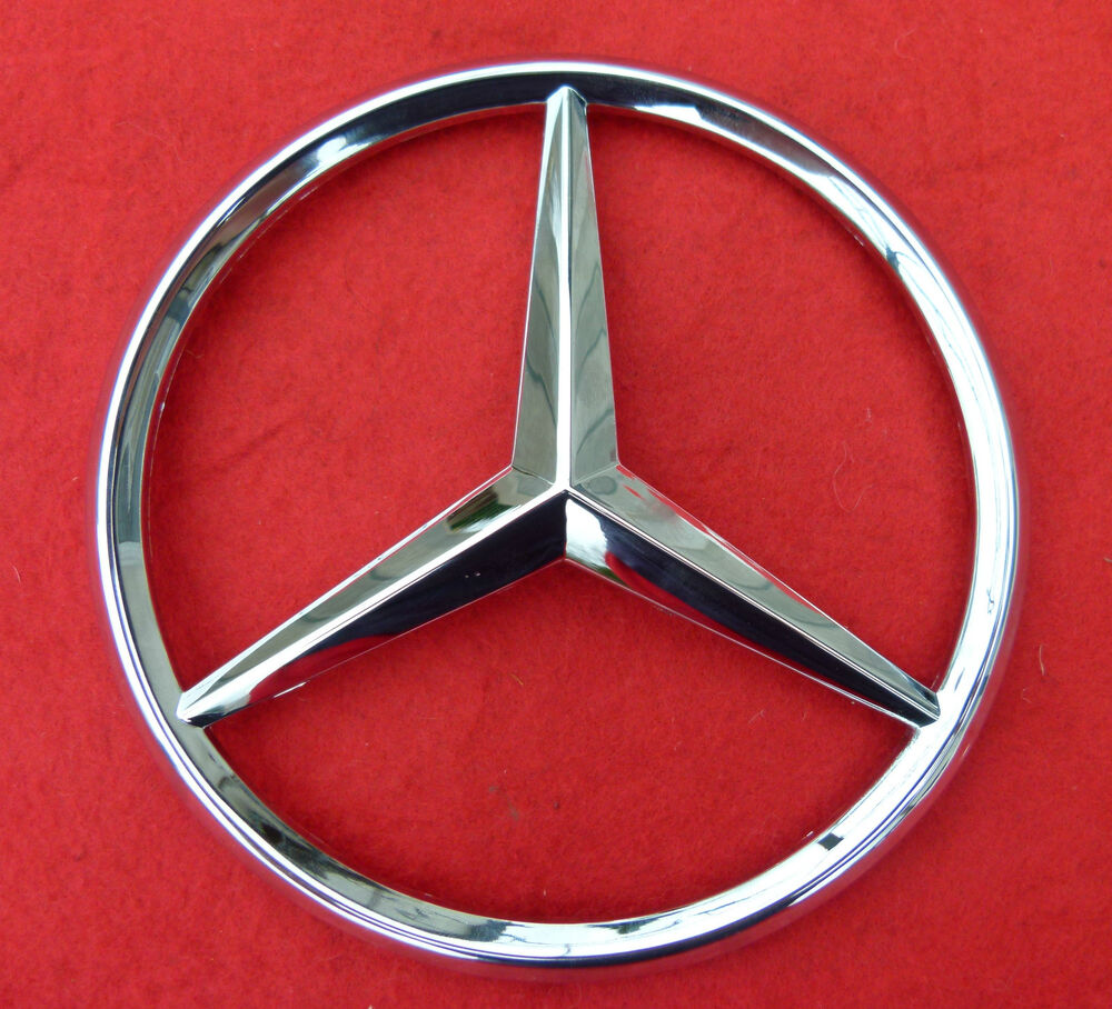 Mercedes benz emblem badge ebay autos post for Mercedes benz insignia
