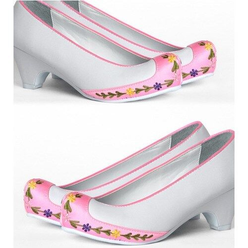 Hanbok Shoes A 062 Flower Women Korean Traditional Dress