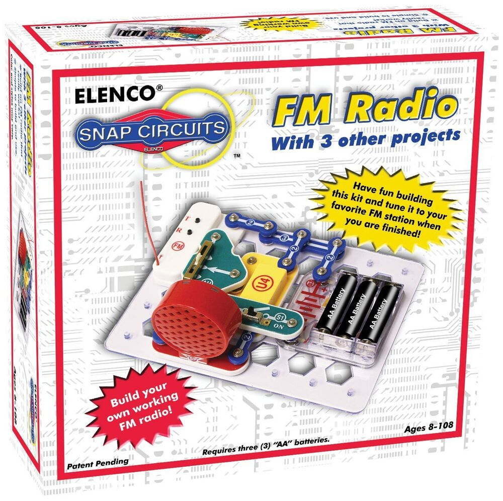 271632308708 also Snap Circuits Extreme 750 Experiments together with AmFmRadioKit also Snap Circuits Fm Radio Circuitry Kit likewise B0002AHQWS. on snap circuits fm radio