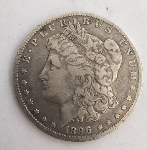 1896 O Morgan Silver Dollar Coin Ebay