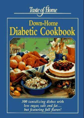 Taste of Home Diabetic Cookbook 2008