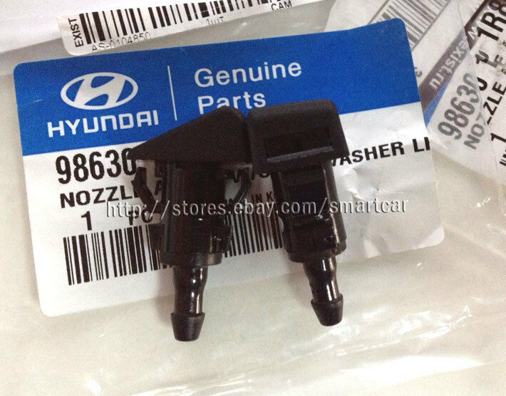 2011 2012 2013 2014 hyundai accent oem windshield washer nozzle 2pcs ebay. Black Bedroom Furniture Sets. Home Design Ideas