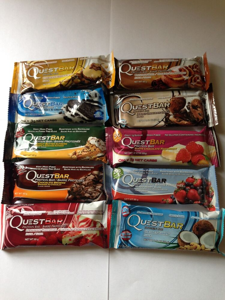 Quest protein bars variety pack