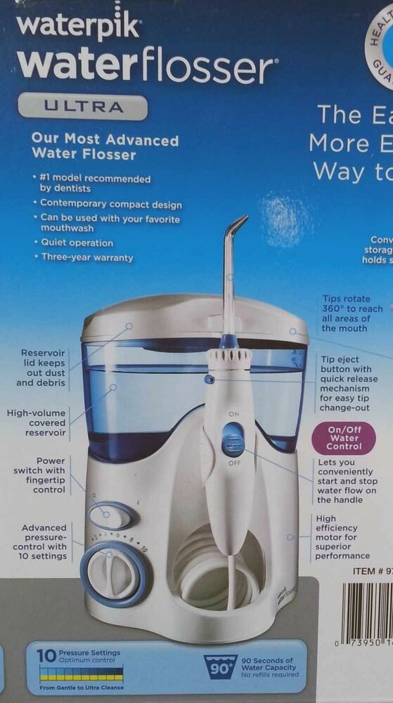 new waterpik ultra dental jet pick pik water flosser wp130 wp 130 w tips ebay. Black Bedroom Furniture Sets. Home Design Ideas