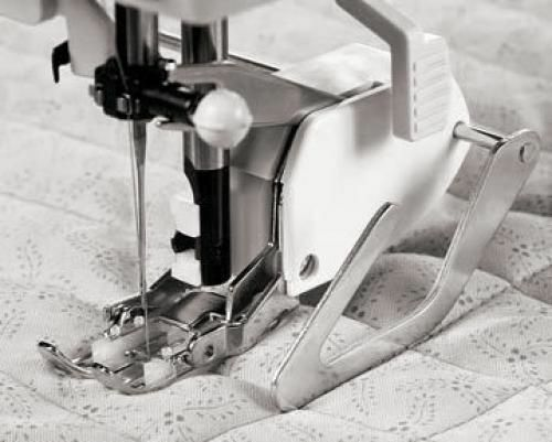 Walking Even Feed Sewing Machine Foot W Quilt Guide For