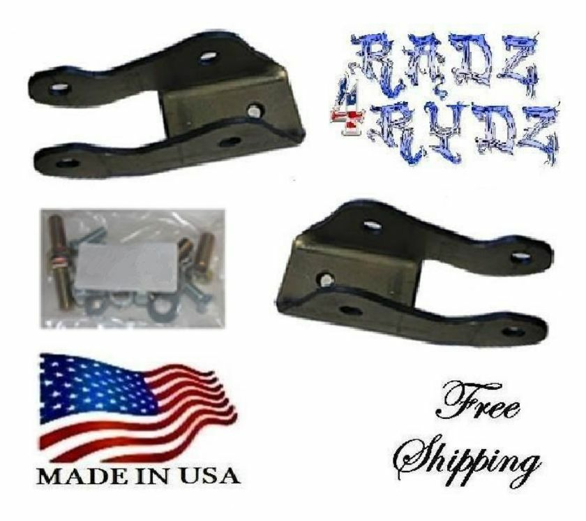 2004-2017 Ford F150 Drop Rear Shock Extenders Extensions ...