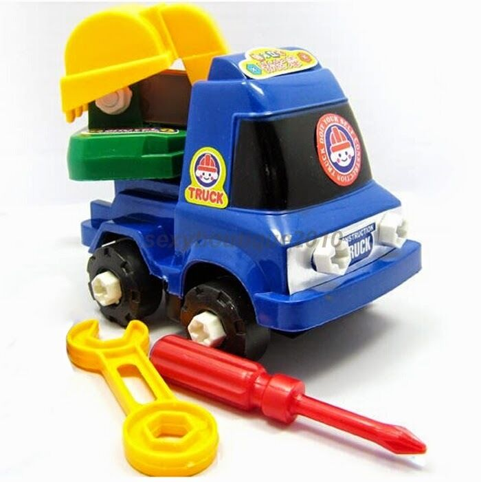 Engineering Toys For Boys : Engineering van crane developmental children toys baby