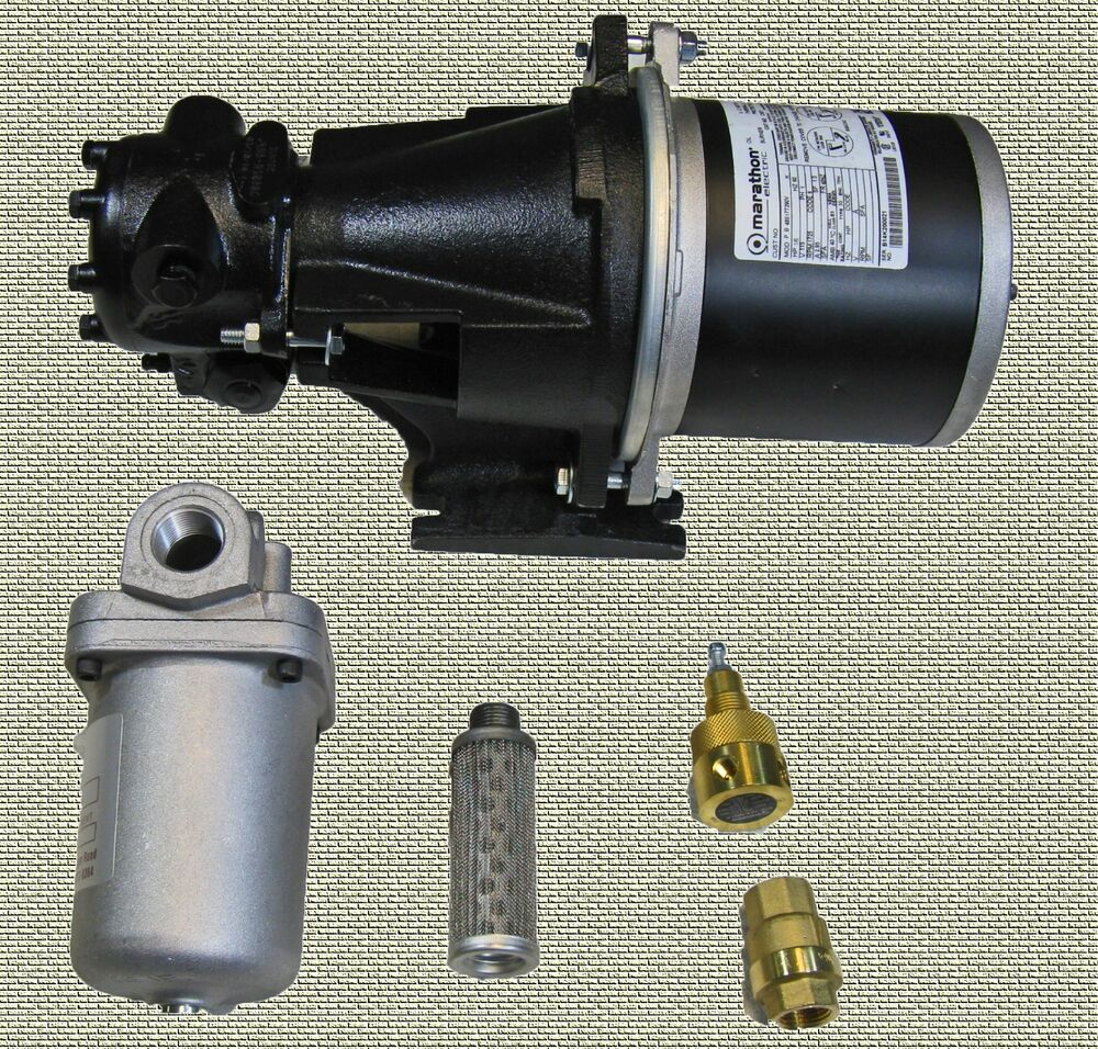 Waste oil heater parts fuel pump kit system suntec with for Heater that burns used motor oil