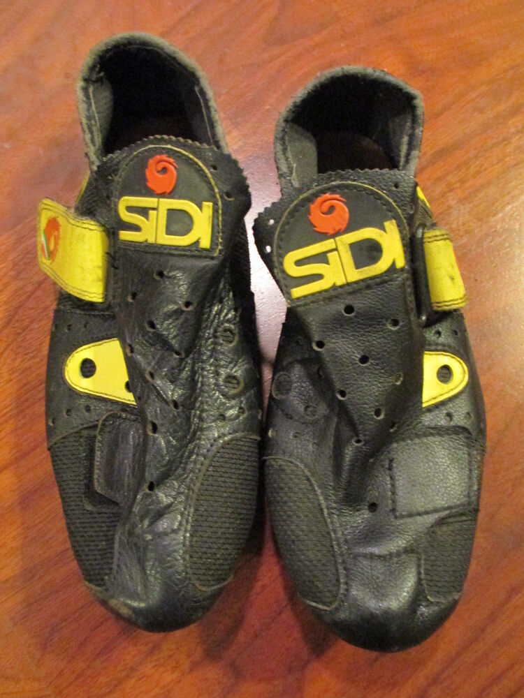 VINTAGE OLD SCHOOL RETRO SIDI ROAD TRACK CYCLING SHOES ...