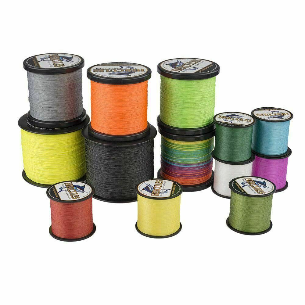 500m 1000m 8lbs 100lbs colors braided fishing line spectra for Spectra fishing line