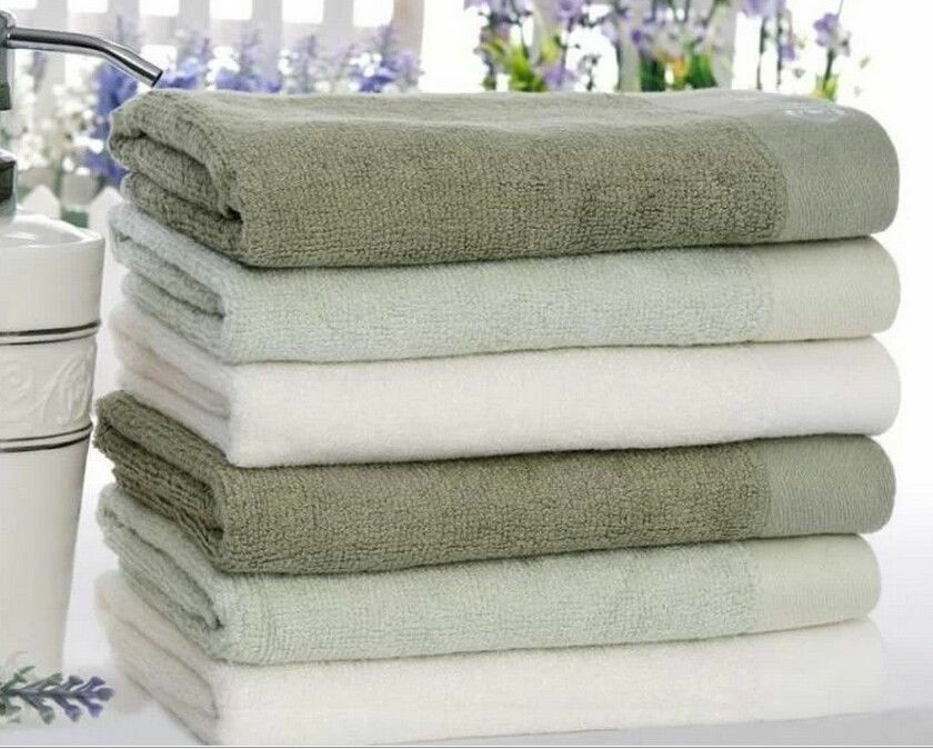 pure color bamboo fiber natural organic bathroom towel hand towel family washer ebay