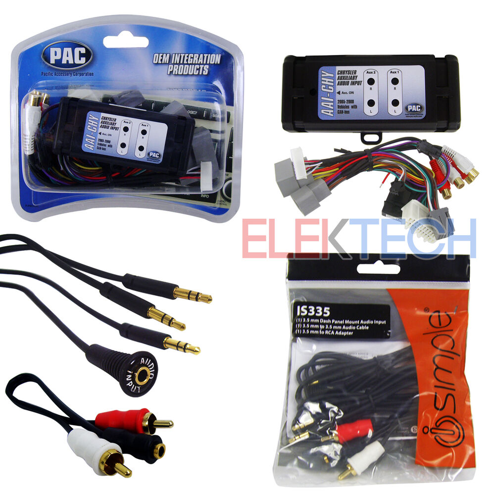 pac aai chy auxiliary input adapter interface is335 aux rca cable extender ebay