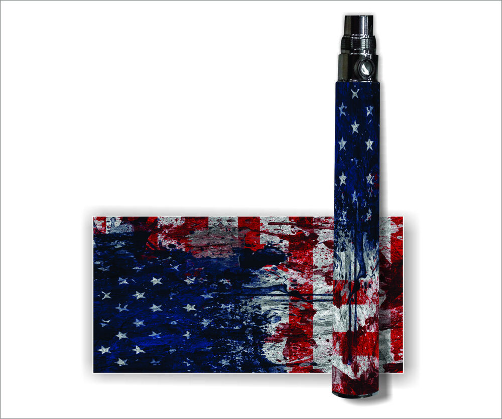Case Design ecig phone case : Battery Sticker Skins Fits: eGo Type Other Vape Mod Wraps - WORN ...