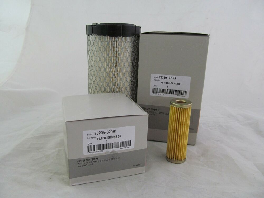 Tractor Hydraulic Oil Filter Lookup : Kioti tractor parts ck gear service filters kit oil air