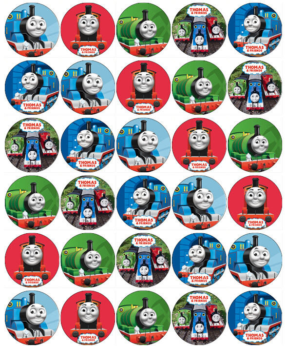 Thomas The Tank Engine Friends V5 Edible Wafer Paper