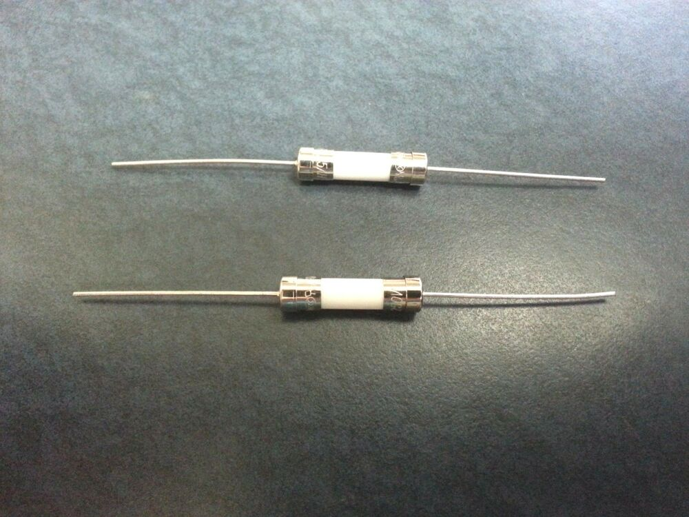 2 Pcs Ceramic Pigtail Fuse 5a Gma 250v 5x20mm 5 X 20mm