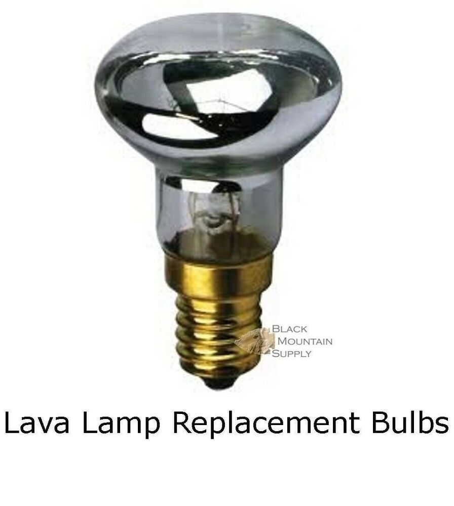 Lava Lamp Replacement Light Bulb Reflector Type R39 E17