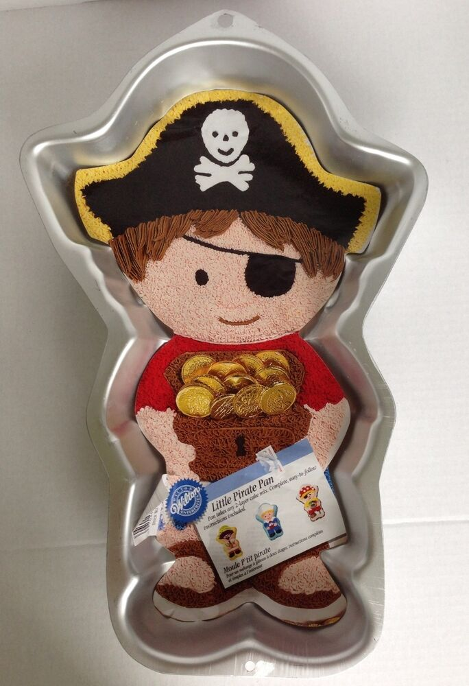 Wilton Pirate Cake Pan