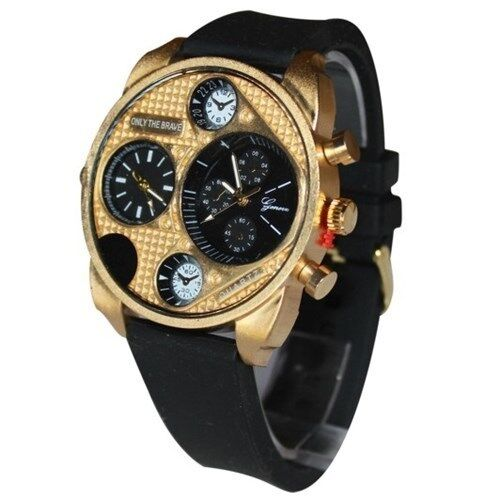 mens gold designer watches